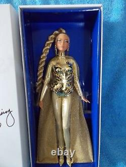 2017 Barbie Doll Convention Golden Galaxy US Convention Doll Signed