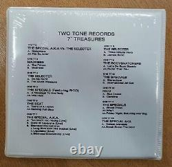 2-TONE Treasures 7 x 12 Vinyl Single BOX Set SIGNED by Jerry Dammers! IN STOCK