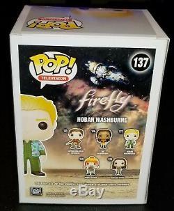 Alan Tudyk Autographed Firefly Hoban Washburn Signed Funko Pop Beckett JSA PSA