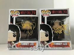 Autographed Funko Pop Rocks 73 Motley Crue Tommy Lee