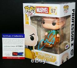 Autographed James McAvoy signed Marvel Professor X X-men Funko POP PSA JSA