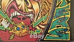 Autographed/Signed Ramones Acid Eaters Vinyl Import Johnny, CJ & Traci Lords