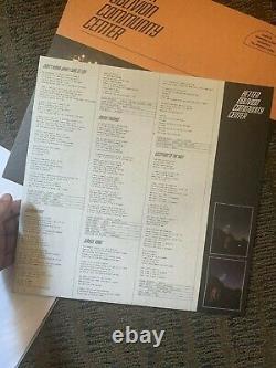 Better Oblivion Community Center Orange Vinyl Signed Phoebe Bridgers Conor
