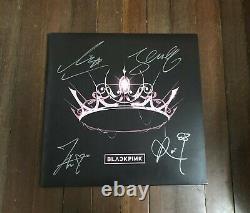 Blackpink All Member THE ALBUM Autographed LP Vinyl record