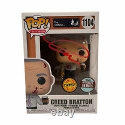 Creed Bratton Signed The Office Creed Funko Pop Chase Autographed JSA COA