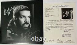 DRAKE Autographed Signed Authentic Scorpion Album Full Vinyl OVO +6 RARE JSA LOA