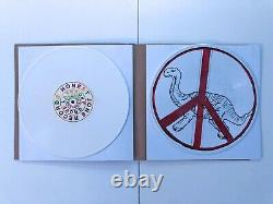 Damon Albarn DEMOCRAZY 2x LP picture disc vinyl SIGNED by DAMON Blur Gorillaz