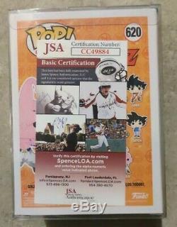 Dragon Ball Z Kid Buu #620 Funko Pop JSA Autographed Signed by Josh Martin