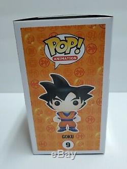 Dragonball Z Goku Signed Sean Schemmel Autographed Funko POP! #09 JSA COA