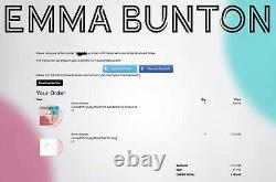Emma Bunton Signed My Happy Place Test Pressing Lp Vinyl Album Spice Girls Baby