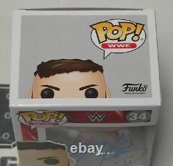 Finn Balor Signed WWE Funko Pop 34 BAS Beckett COA Vinyl Action Figure Autograph