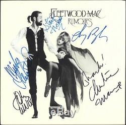 Fleetwood Mac Signed Rumours Vinyl LP (Autographed By All Members with LOA)