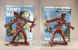 Frank Kozik SIGNED AUTOGRAPHED 17 Bronze Big Army Man Ultraviolence LE 50 RARE