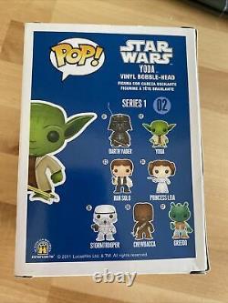 Frank Oz Signed Star Wars Yoda 02 Funko JSA N87468