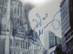 Freddy Mercury Queen & Giorgio Moroder signed LP-Cover Metropolis Vinyl