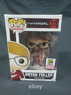 Funko POP! TV Hannibal Bryan fuller #277 2015 sdcc (signed)