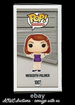 Funko POP! The Office Meredith Palmer Signed by Kate Flannery JSA Cert