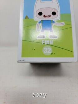 Funko Pop! Adventure Time Finn SDCC Glow in the Dark BRAND NEW SIGNED Lot