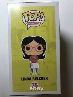 Funko Pop! Animation Bobs Burgers Linda Belcher Signed And Sketched By Frank F