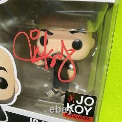 Funko Pop! Comedians Set Signed Fluffy, Jeff Dunham & Jo Koy Autographs
