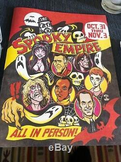 Funko Pop Elvira Diamond Purple Spooky Empire 375 LE 2500 SIGNED Very Rare