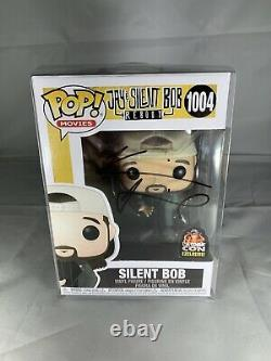 Funko Pop Jay & Silent Bob Silent Bob 1004 L. A. Comic Con Kevin Smith Signed New