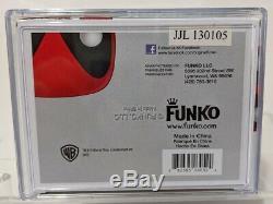 Funko Pop MARVEL DEADPOOL METALLIC SDCC 2013 Exclusive 480 Signed by Stan Lee