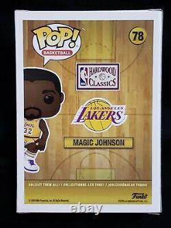 Funko Pop! NBA Magic Johnson 78 Signed LA Lakers WithBeckett COA Ltd Ed 125 Pcs