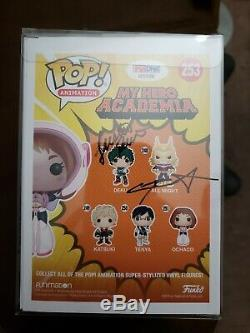 Funko Pop! Signed! My Hero Academia Ochaco (Masked) #253 2017 SDCC Exclusive
