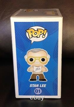 Funko Pop! Stan Lee SIGNED Superhero #01 NYCC 2013 1st Exclusive SUPER RARE #1