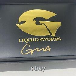 GZA Liquid Swords The Singles Vinyl Box Set Deluxe Art Edition Signed Wu Tang