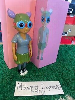Hebru Brantley OG color Lil Mama Flygirl 100% Authentic SIGNED by Hebru NEW