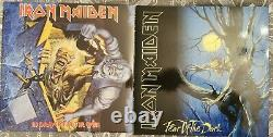 Iron Maiden The Complete Collection vinyl LP Boxset Box SET SIGNED