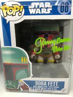 Jeremy Bulloch signed FUNKO POP figure Boba Fett Star Wars
