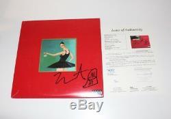 Kanye West Signed My Beautiful Dark Twisted Fantasy Album Vinyl Jsa Mbdtf Sketch
