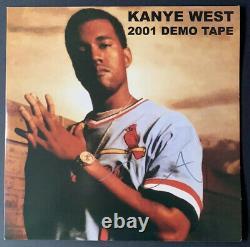 Kanye West Signed Vinyl 2001 Demo Tape LP JSA LOA #BB36991 COA Rare Import