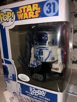 Kenny Baker R2-d2 R2d2 Signed Autographed Star Wars Funko Pop Vinyl-jsa Coa