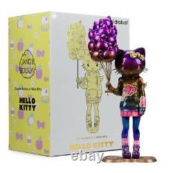 Kidrobot & Sanrio 20 Custom Hello Kitty EPHEMERAL EDITION Vinyl Figure SIGNED