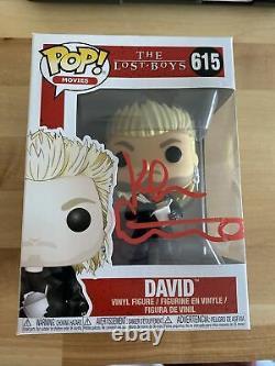 Kiefer Sutherland Signed The Lost Boys David 615 Funko Pop JSA WPP016954