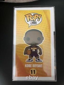 Kobe Bryant Jersey 24 Purple Autographed Funko Pop! #11 No COA