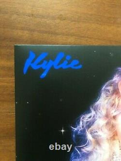 Kylie Minogue Disco Signed Limited Edition Blue Vinyl and Autographed Photo