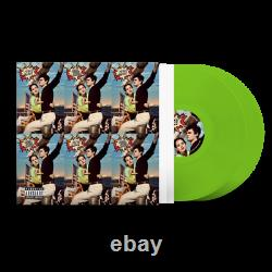 Lana Del Rey NORMAN FUCKING ROCKWELL! LIME GREEN 2LP VINYL + SIGNED CARD +PROOF