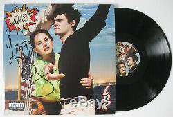 Lana Del Rey signed autographed Norman F-cking Rockwell Album, Vinyl, exact Proof