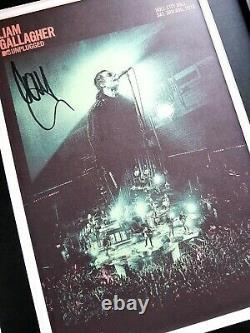 Liam Gallagher Signed/Oasis/Luxury Framed/Noel Gallagher/Definitely Maybe/Vinyl