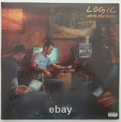 Logic Signed Under Pressure Vinyl Record Rare Rap Hip Hop LEGEND RAD