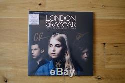London Grammar Truth Is A Beautiful Thing Marbled Vinyl Signed Sealed