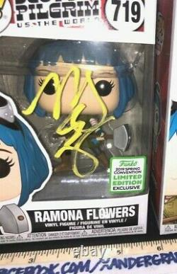 MARY ELIZABETH WINSTEAD SIGNED AUTOGRAPHED FUNKO POP-BAS COA BECKETT Ramona