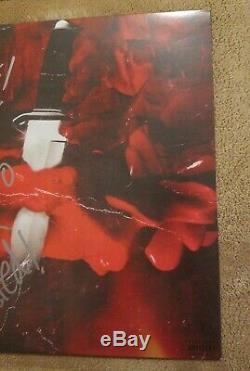 METRO BOOMIN & 21 SAVAGE signed auto SAVAGE MODE Vinyl LP JSA Sticker only