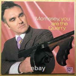 MORRISSEY You Are The Quarry limited numbered signed VINYL LP autographed SMITHS