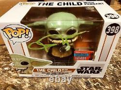 Mandalorean Baby Yoda John Rosengrant Signed Auto Funko Pop #398 Amazon COA
